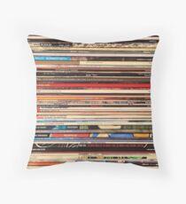 Vinyl Records Alt-Country   Throw Pillow