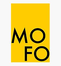 MoFo Photographic Print