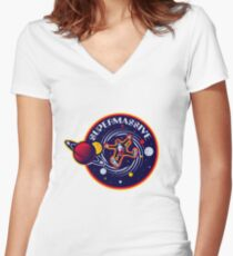 Muse - Supermassive Black Hole Women's Fitted V-Neck T-Shirt