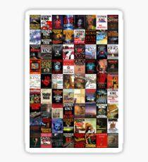 Stephen King Novels Sticker