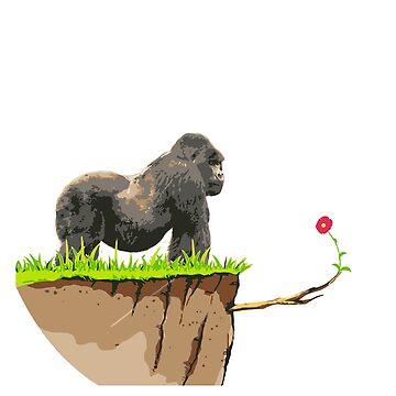 Gorilla by olivergraham