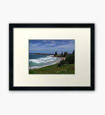 Yamba Main Beach Framed Print