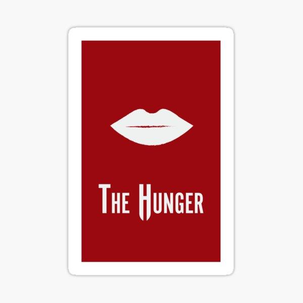 The Hunger Minimalist Poster Sticker