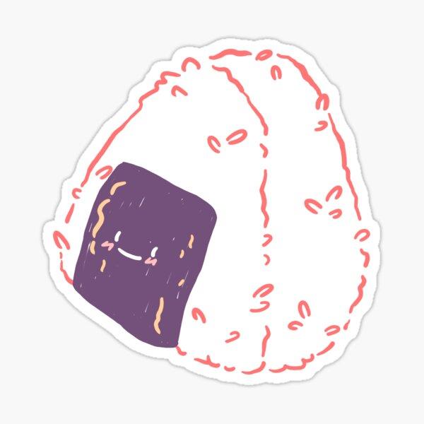Kawaii onigiri Sticker