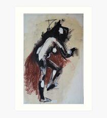 Lady Figure I Art Print