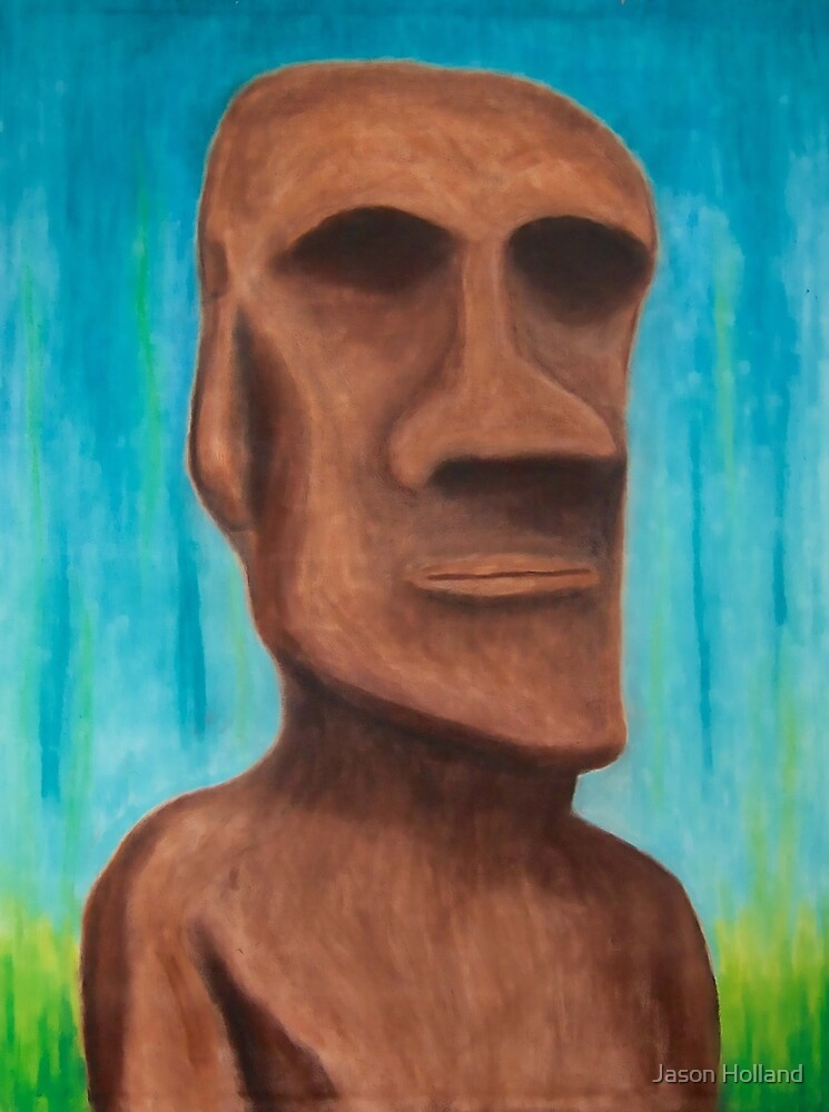 Easter Island by Jason Holland