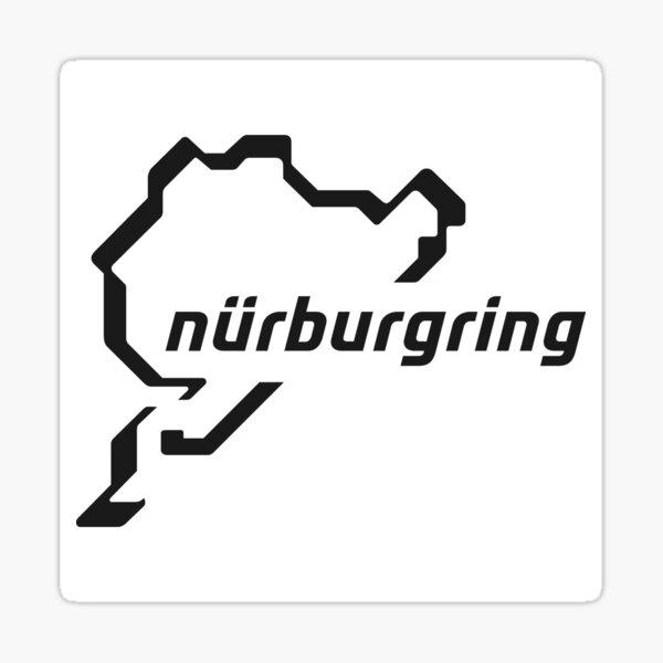 Nurburgring - logo Sticker