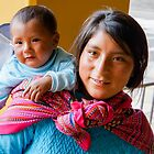 Peruvian Woman and Child by Robert Kelch, M.D.