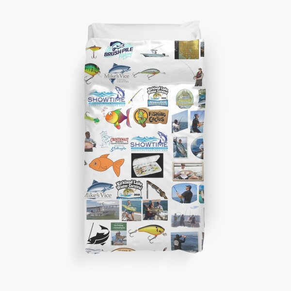 hand gathering, spearing, netting, trapping, #fishing, wild fisheries Duvet Cover