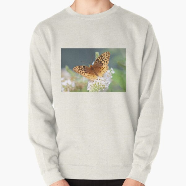 Great Spangled Fritillary Butterfly Pullover Sweatshirt