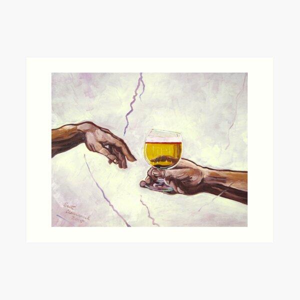 God's Gift Art Print