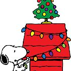 Snoopy Christmas by manzinello