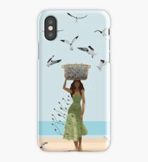 Fish Seller iPhone Case