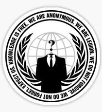 Anonymous Sticker
