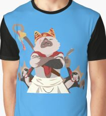 Meowscular Chef and his crew Graphic T-Shirt