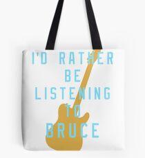 Bolsa de tela Prefiero estar en el listado de Bruce
