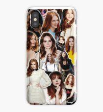 Karen Gillan iPhone Case