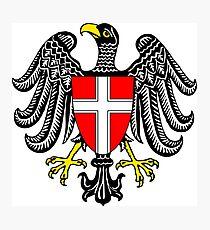 Coat of Arms of Vienna, Austria Photographic Print