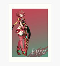 Xenoblade Chronicles 2 - Pyra Poster Art Print