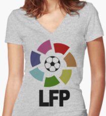 Lfp Funny Geek Nerd Women's Fitted V-Neck T-Shirt