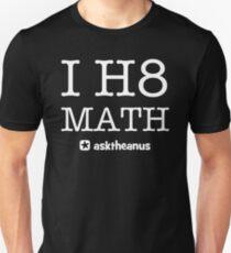 I H8 Math Slim Fit T-Shirt