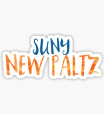 NEW PALTZ Sticker
