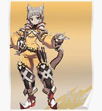 Xenoblade Chronicles 2 - Nia Poster Poster