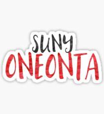 ONEONTA Sticker