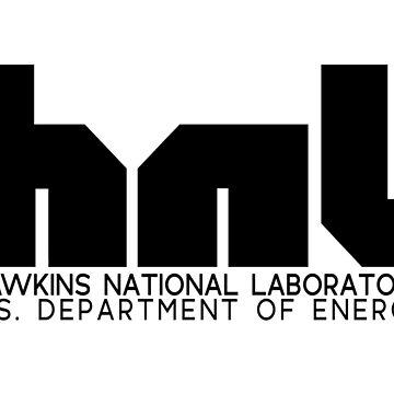 hnl logo HAWKINS NATIONAL LABORATORY Netflix Stranger Things by starkle