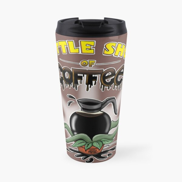 Little Shop Of Coffee Travel Mug