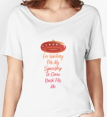 """Kesha - """"I'm Waiting For My Spaceship"""" Lyric Women's Relaxed Fit T-Shirt"""