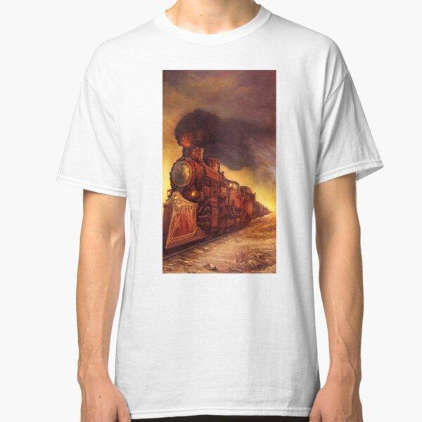 Steampunk Locomotive Classic T-Shirt
