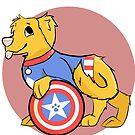 Fan's Best Friend: Star-Spangled Pup by ThunderSnowArt