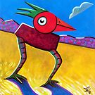 Box-Bird by Charles  Jones
