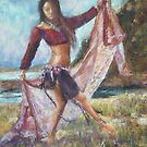 Gypsy dancer by Terri Maddock