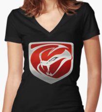 Dodge SRT Viper Women's Fitted V-Neck T-Shirt