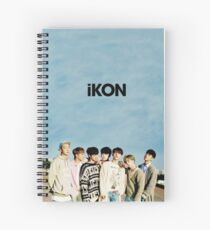iKON Spiral Notebook