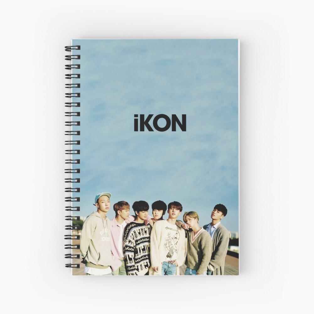 iKON Spiral Notebook