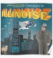 Illinoise - Sufjan Stevens Poster
