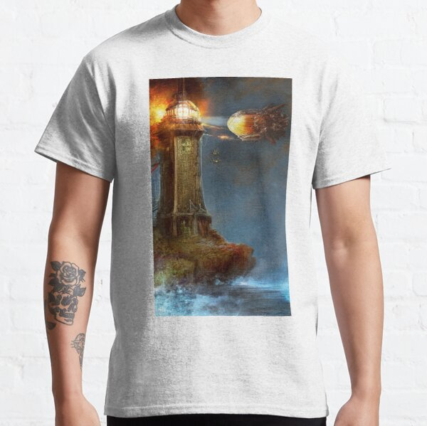 Steampunk Tower Attack! Classic T-Shirt