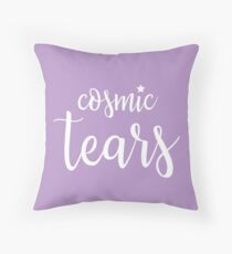 "Valentine's Day ""Cosmic Tears"" Pillow - Version 1 Throw Pillow"