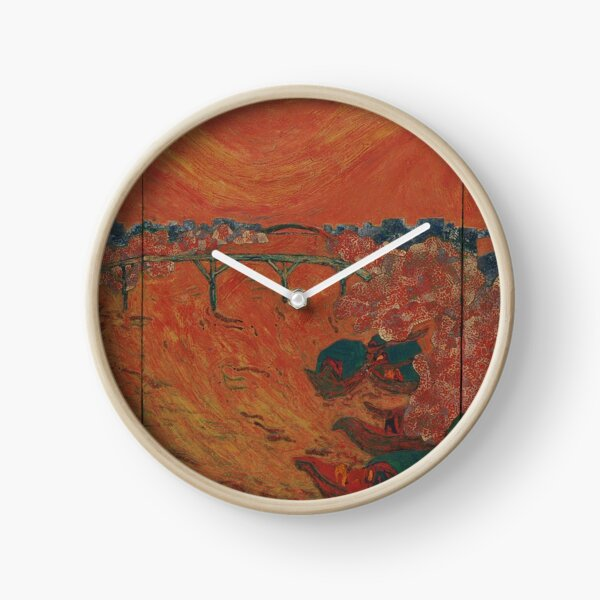 Lacquer Painting, Lacquer Paintings, Lacquer, Painting, Paintings Clock