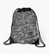Dystopia Drawstring Bag