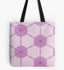 Purple Abstract Pattern Compass style pattern Tote Bag