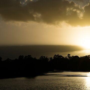 Hunter River Sunrise by DeborahMcGrath