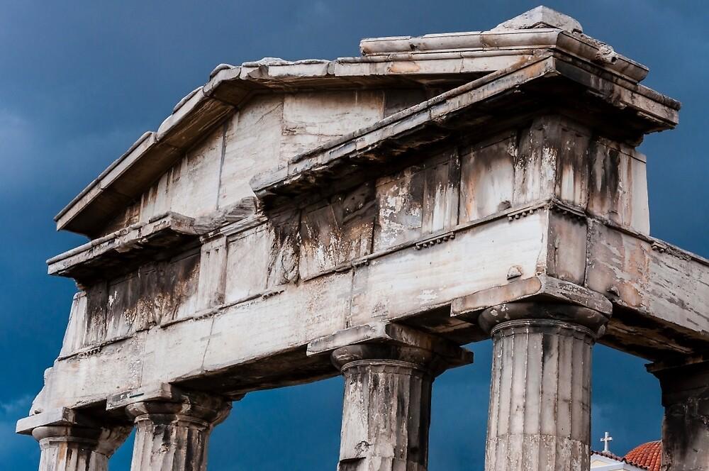 Stormy Rome in Greece by Yevgeni Kacnelson