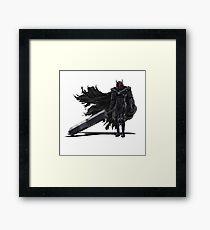 Berserk Armor Framed Print