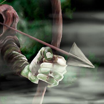 Robin the Hooded Man - Sherwood Forest, Robin Hood, Archer, Nottingham by ImogenSmid