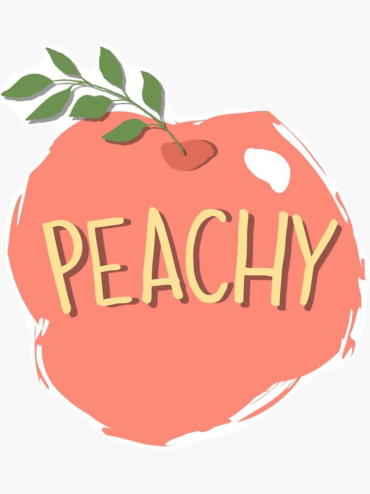 Peachy by abbysheahan