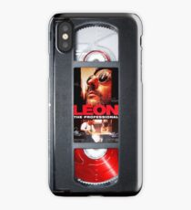 Leon the professional VHS iPhone case iPhone Case/Skin